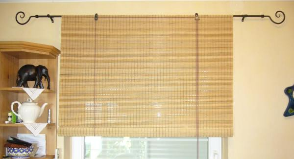 Made to measure bamboo blinds in the uk for Bamboo roller shades ikea