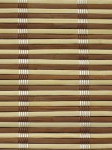 Material for manufacture of custom bamboo blinds and made to measure bamboo shading