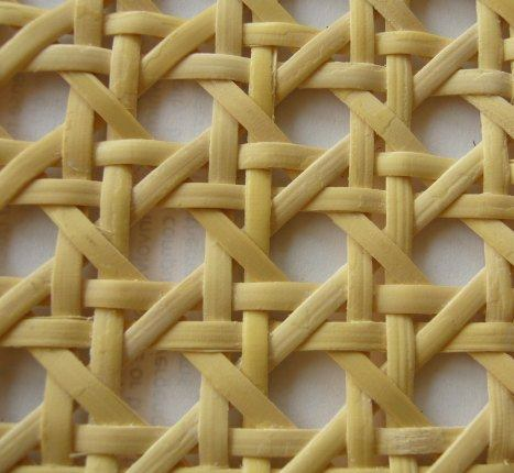Open cane webbing and closed cane webbing thonett webbing for Rattan couchtisch